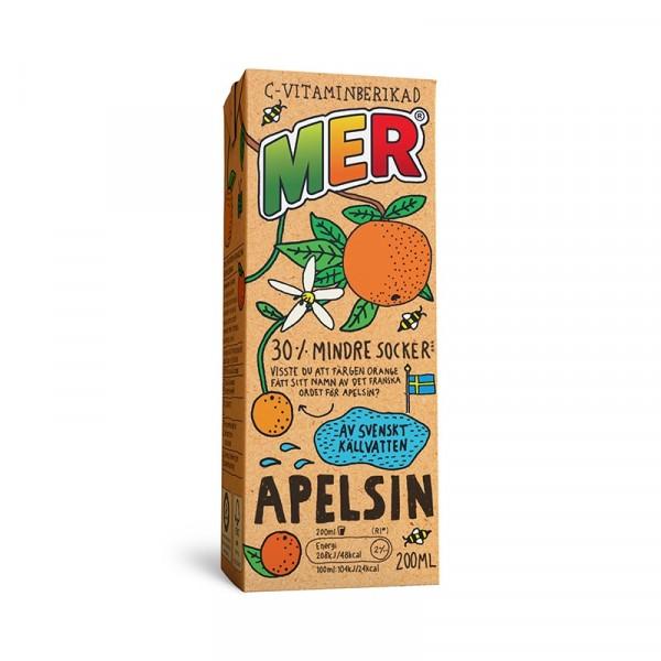 MER Apelsin, Tetra 30x200ml MER #861