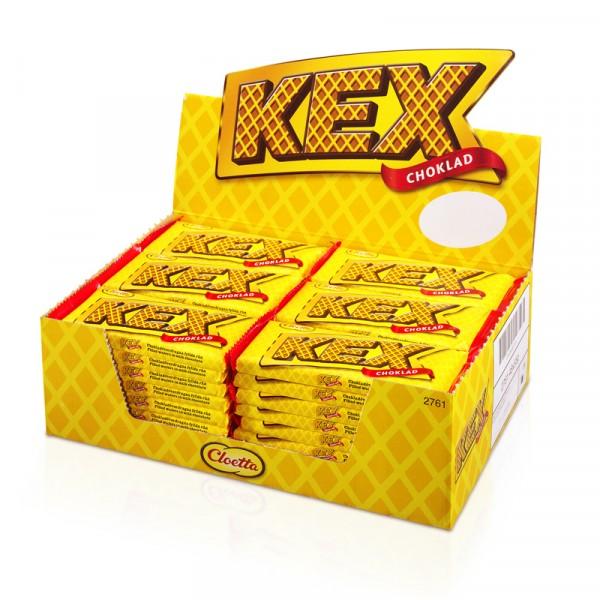 Kexchoklad 48x60g, Cloetta #1003086