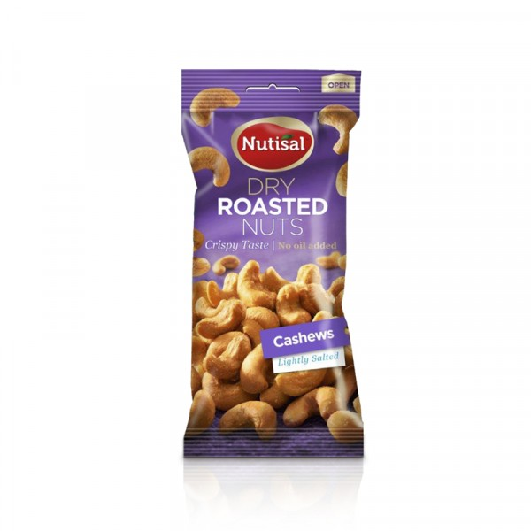 Cashewnötter 14x60g, Nutisal #1004986