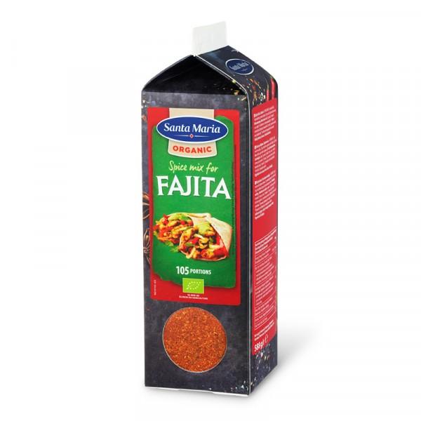 Fajita Spice Mix, Organic 1x588g Santa Maria #101252