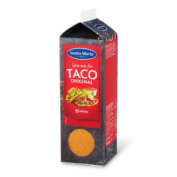 Tacokrydda, Original Spice Mix 1x532g Santa Maria #101254