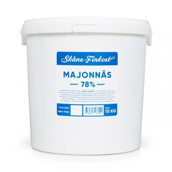 Majonnäs 78%, Blå 1x10kg, Skåne Finkost #102031