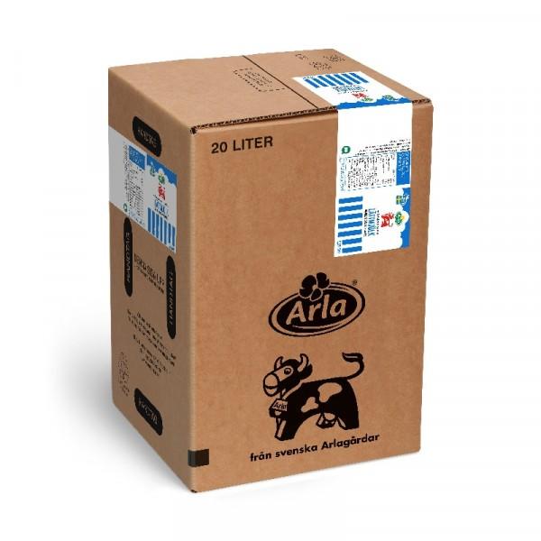 Lättmjölk 0,5%, 20 L 1x20l, Arla #103