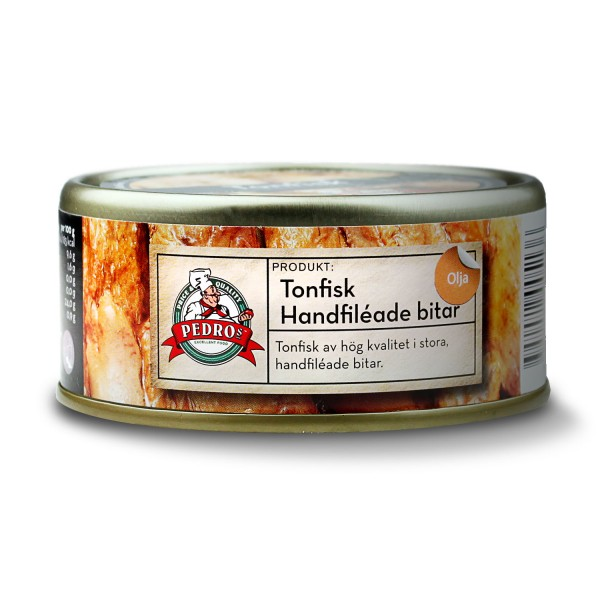 Tonfisk i olja 48x160g Pedros #10450