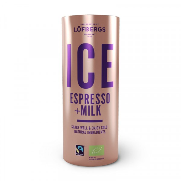 ICE Coffee Espresso+milk 12x230ml Löfbergs #10518