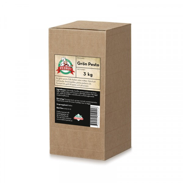 Pesto, Grön Genovese 1x3kg, Pedros #10546