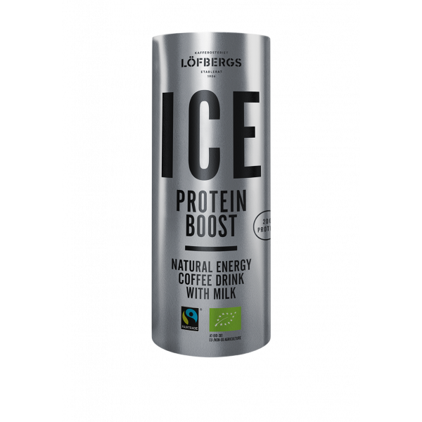 ICE Coffee Protein Boost 12x225ml Löfbergs #10549