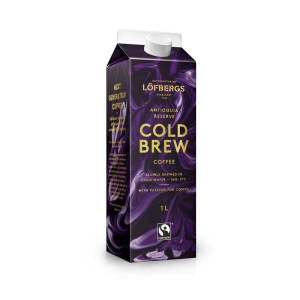 Cold Brew Colombia Antioquia 1x1l Löfbergs #10694