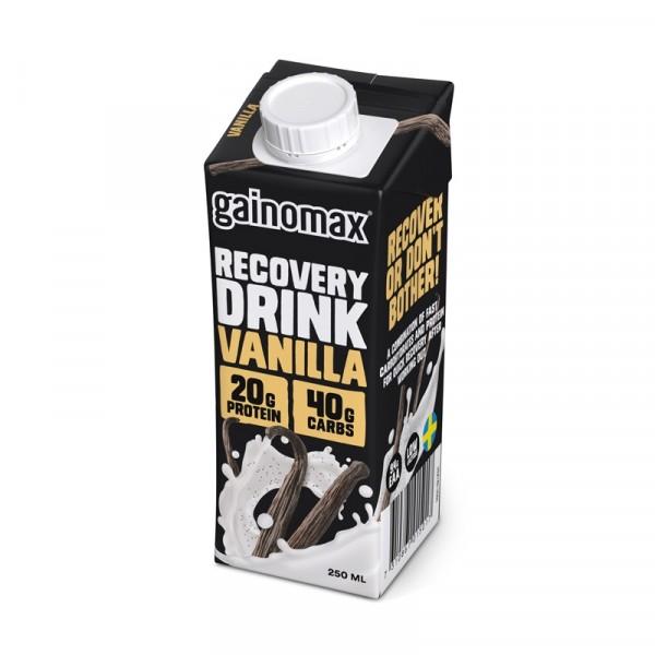 Gainomax Recovery, Vanilla  16x250ml Gainomax #1501