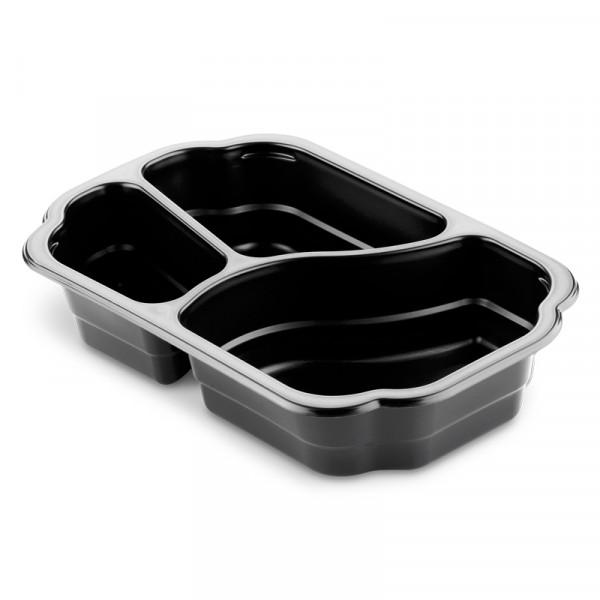 Matbox, 3 fack, 500/350/200 ml 1x246st, Duni #161151