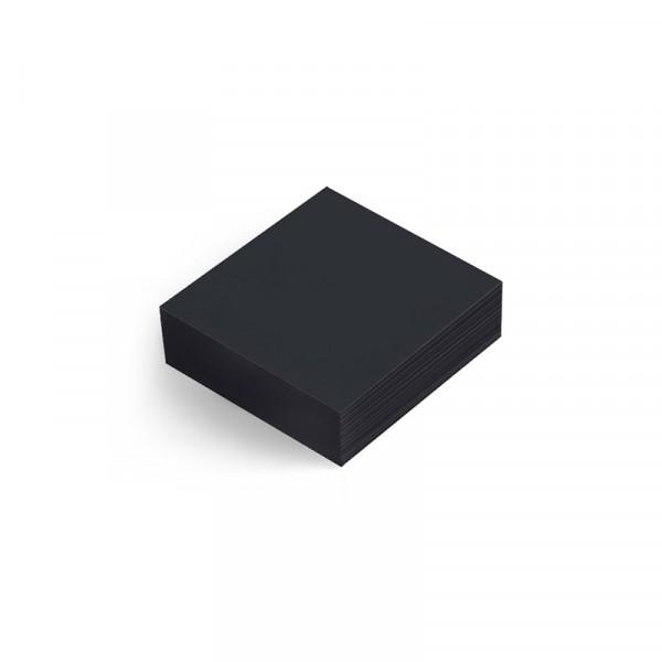 Servetter Dunisoft, 20x20cm, svart 16x180st Duni #168068