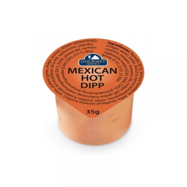 Dipp, Mexican Hot 30x35g Gourmet Service #17120