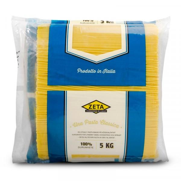 Spaghetti, 100% durumvete 1x5kg, Zeta #1732