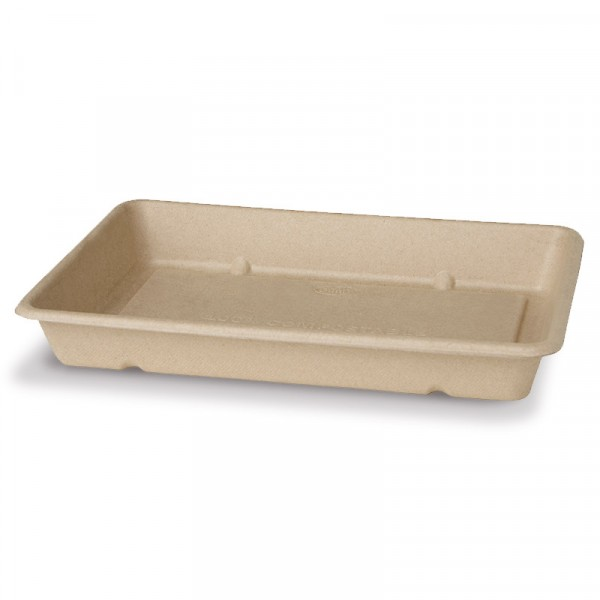 Djup box, Bagasse, 850ml 12x40st Duni #177008