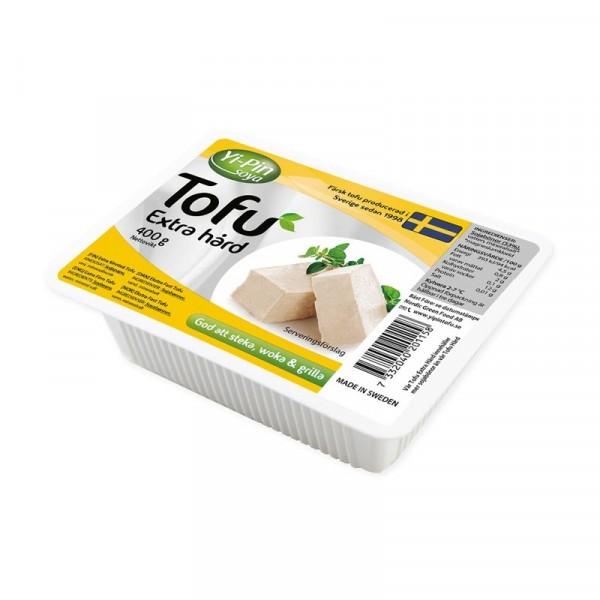 Tofu Naturell Extra Hård 8x400g YiPin #201158