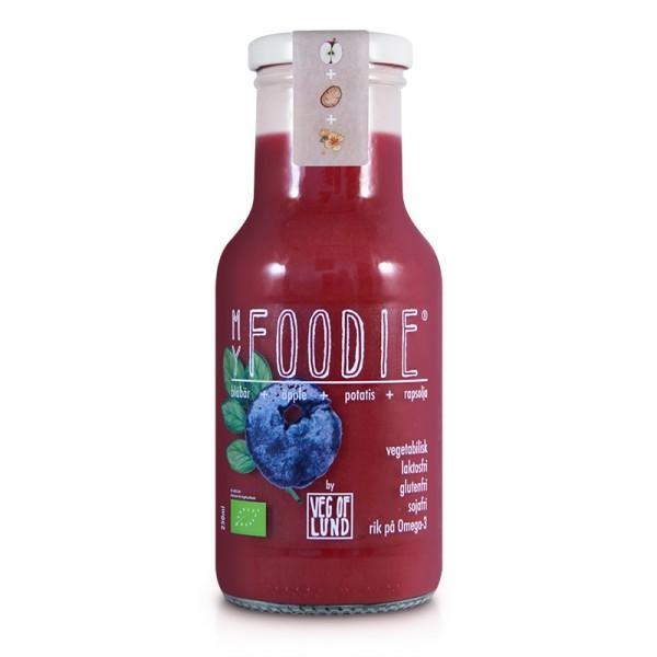 Foodie, Blåbär  12x250ml MyFoodie #202