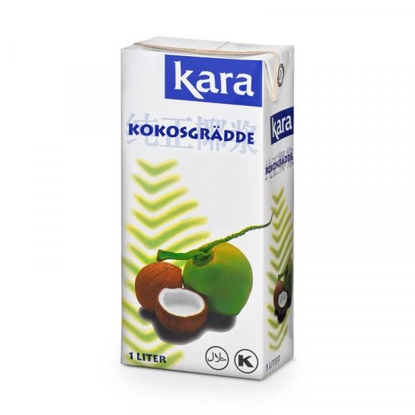 Kokosgrädde 24% 12x1l Kara #211201