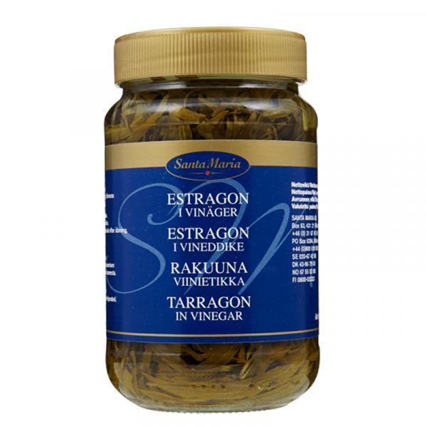 Estragon i vinäger 1x330g Santa Maria #4805