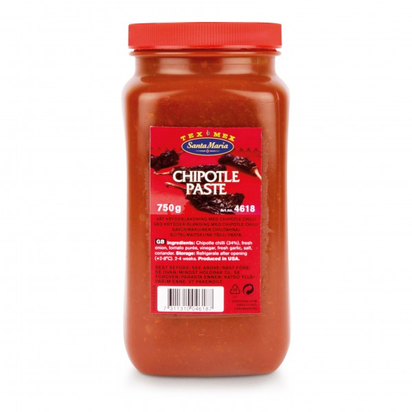 Chipotle Paste 1x750g Santa Maria #4618