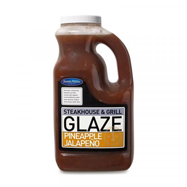 Sweet Pineapple/Jalapeño glaze 1x2240g Santa Maria #4627
