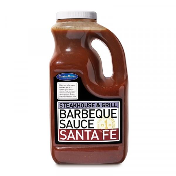 "BBQ Sauce ""Santa Fe"" 1x2160ml Santa Maria #4629"