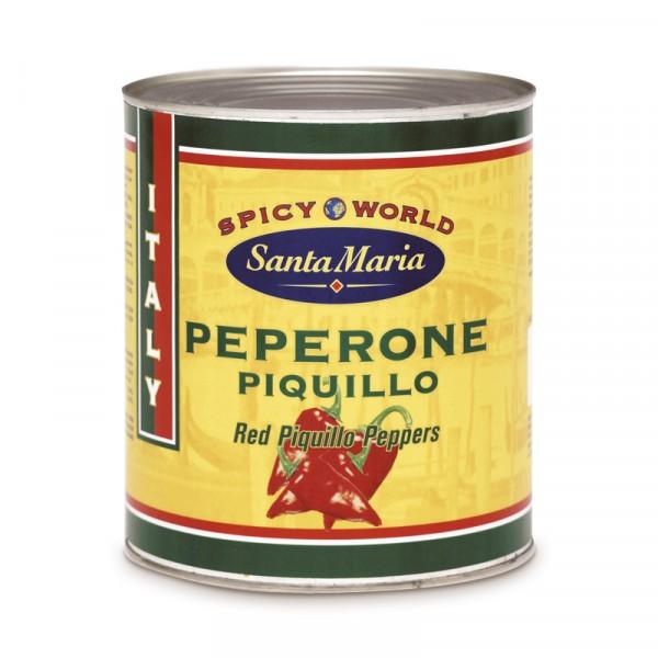 Peperone Piquillo/Paprika handrostad 1x2500g Santa Maria #4673