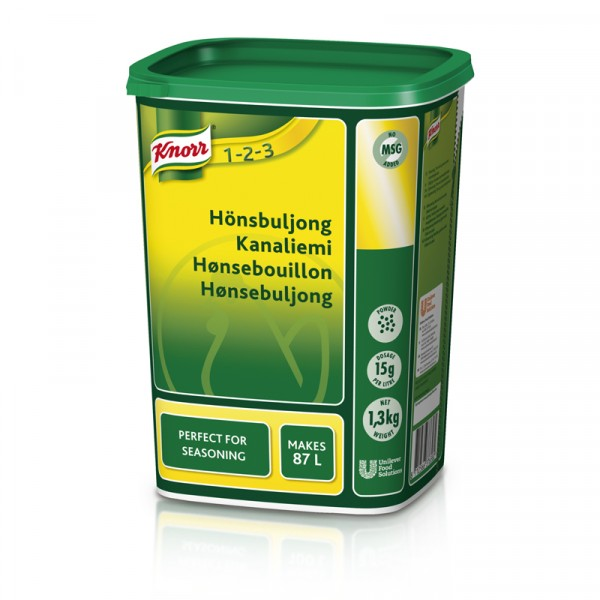 Hönsbuljong, pulver 1x1.3kg Knorr #29537401