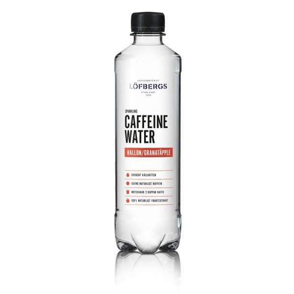 Caffeine Water Granatäpple/hallon 12x500ml Löfbergs #10610