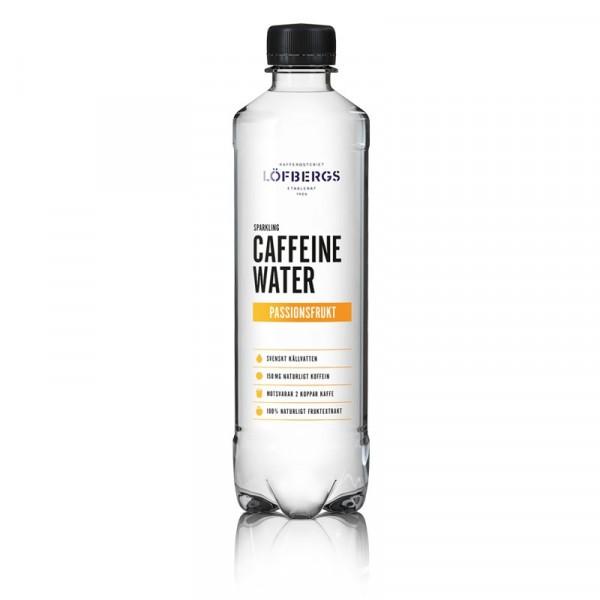 Caffeine Water Passionsfrukt 12x500ml Löfbergs #10609