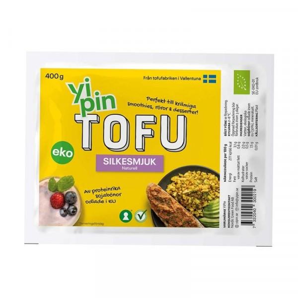 Tofu Silkesmjuk EKO 8x400g YiPin #3002