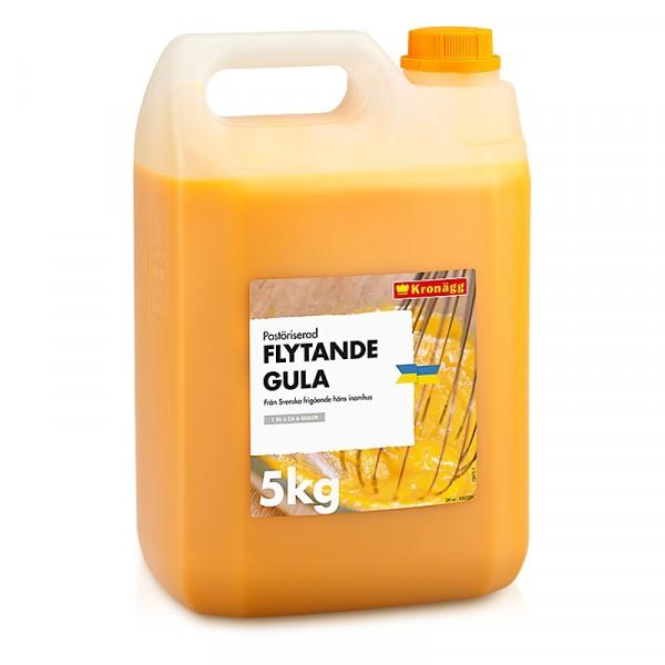 Ägg, Flytande Gula, 5 kg 1x5kg, Kronägg #3004