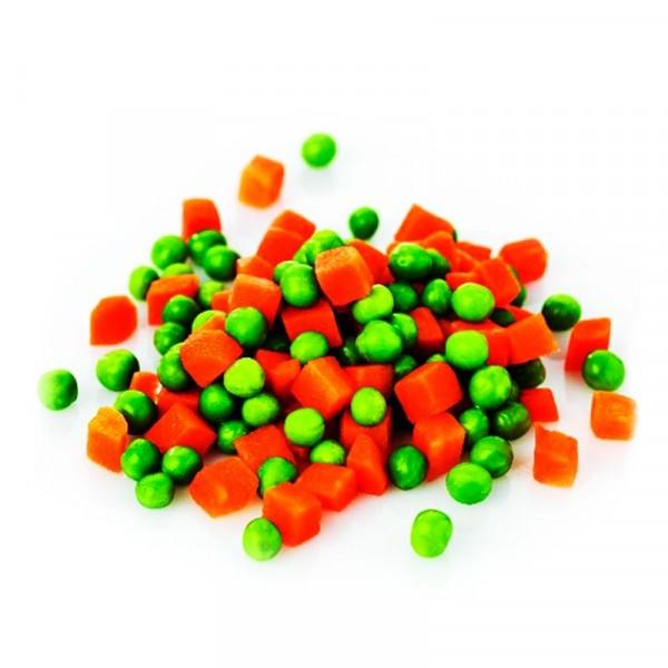 Ärter och tärnade morötter 2x2.4kg, Findus #3102