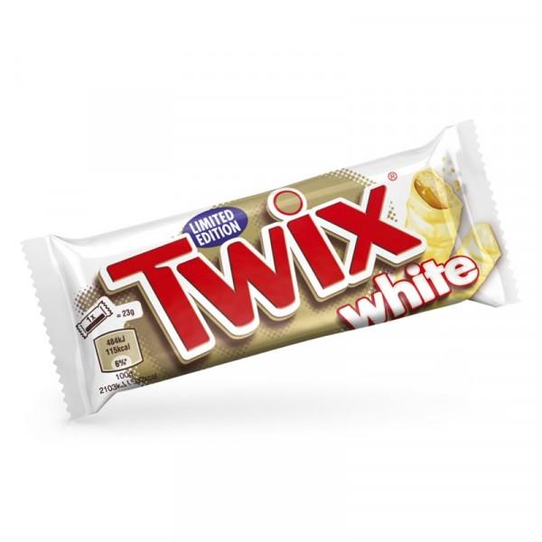 TWIX White chokladbit 32x46g Mars #319792