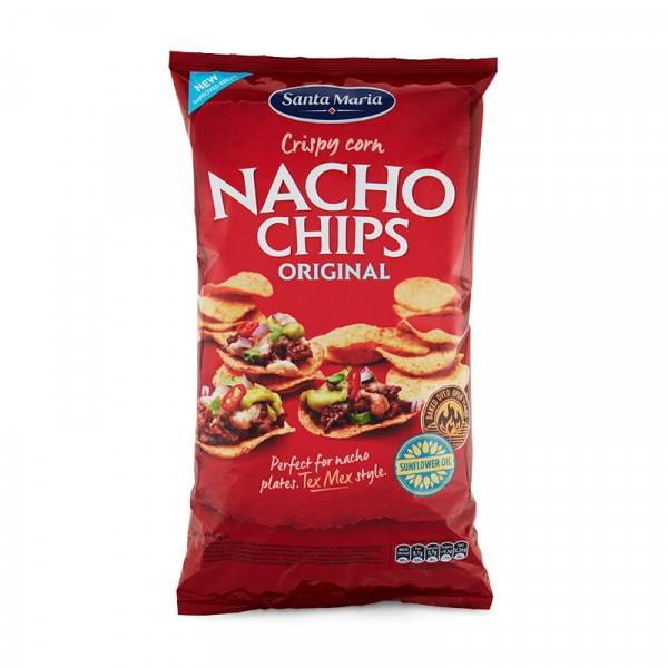 Nacho Chips, Orginal 12x475g Santa Maria #3212