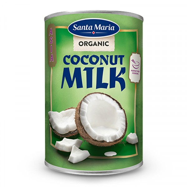 Kokosmjölk, EKO 1x400ml Santa Maria #3589