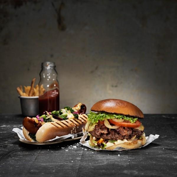 Hamburgerbröd, glazed 40x70g Korvbrödsbagarn #3580