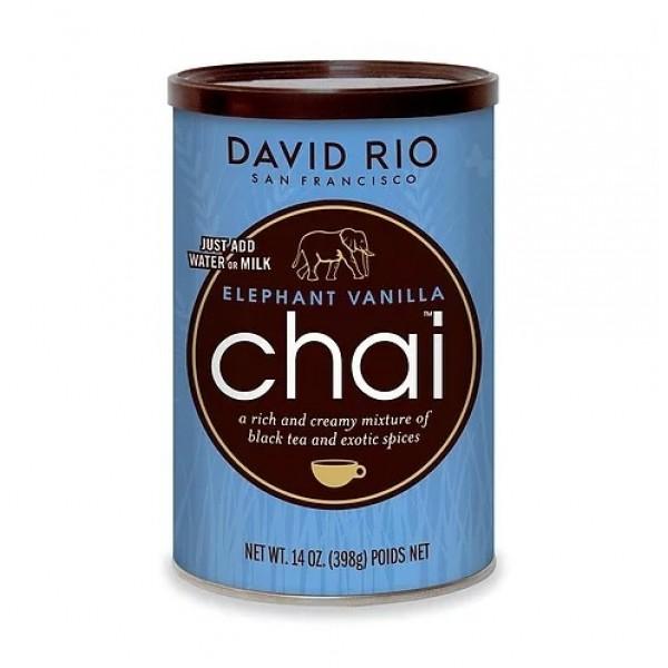 Chai Elephant Vanilla 398G 1x398g David Rio #404447020