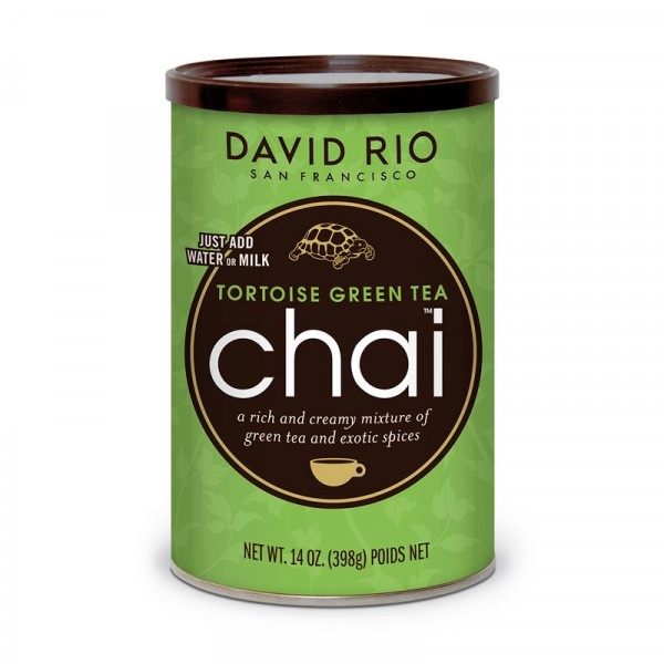 Chai Tortoise Green Tea 1x398g David Rio #40447040
