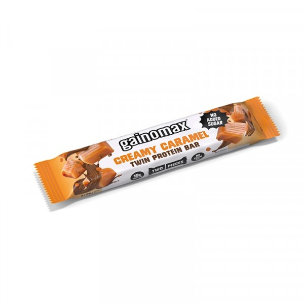 Protein Bar, Twin Caramel 15x50g Gainomax #4100