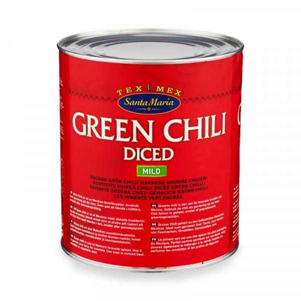 Green Chili 1x2.8kg Santa Maria #4420