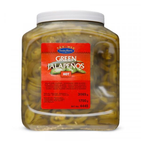 Green Jalapeno - Hot 1x3065g Santa Maria #4445