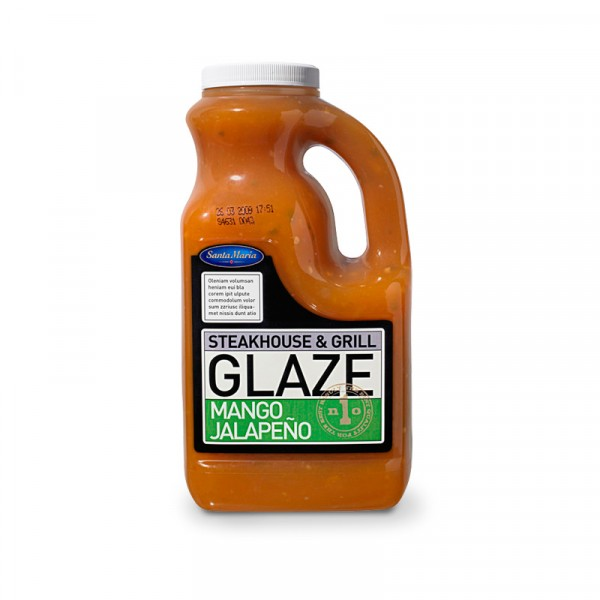 Glaze Mango Jalapeno 1x2160g, Santa Maria #4631