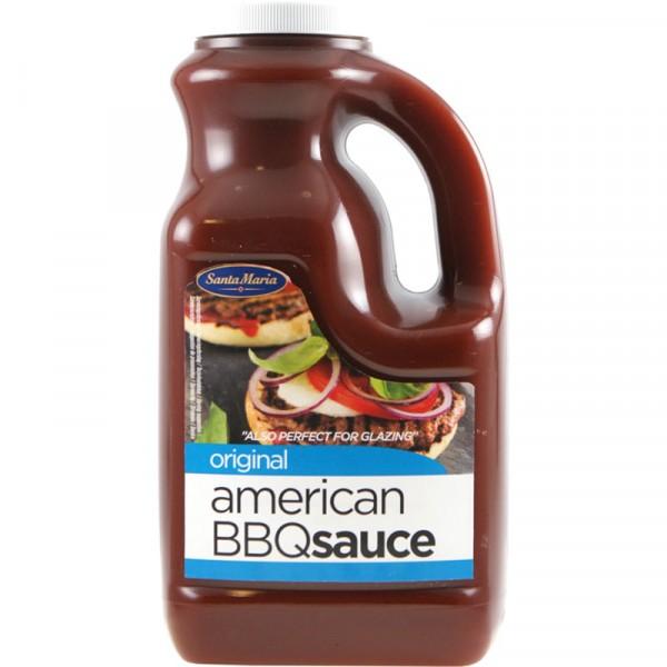 American BBQ sås original 1x2360ml Santa Maria #4679