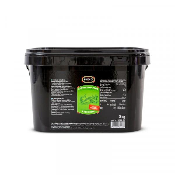 Grönsaksbuljong lågsalt 0,3% 1x5kg Bong #4903
