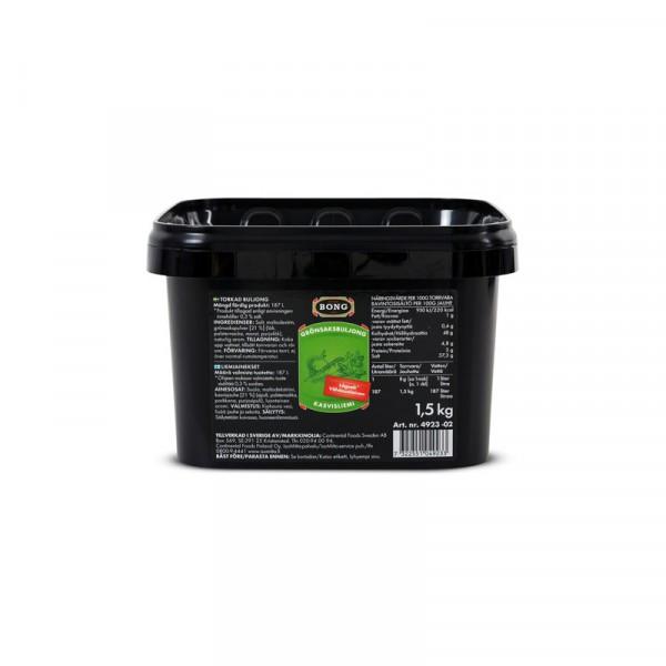 Grönsaksbuljong lågsalt 0,3% 1x1.5kg Bong #4923