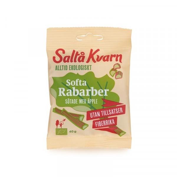 Snacks Softa rabarber EKO 18x40g Saltå Kvarn #5027