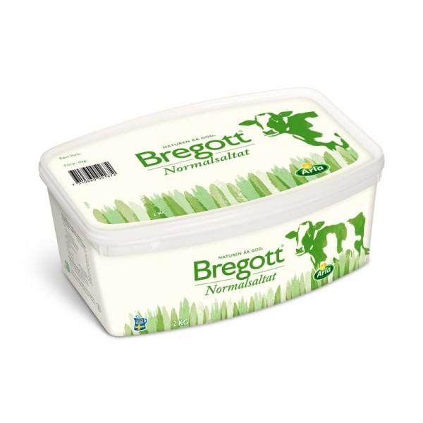 Bregott Normalsaltat, 2 kg 1x2kg Bregott #5167