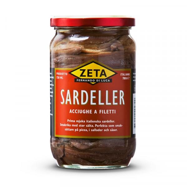 Sardeller 1x700g, Zeta #5296