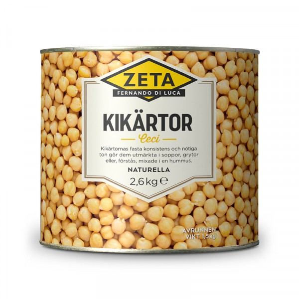 Kikärtor 1x2.6kg, Zeta #5311