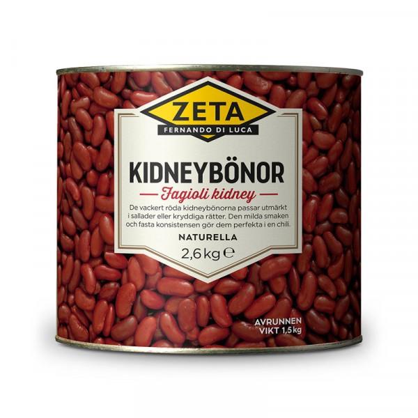 Kidneybönor 1x2.6kg, Zeta #5312